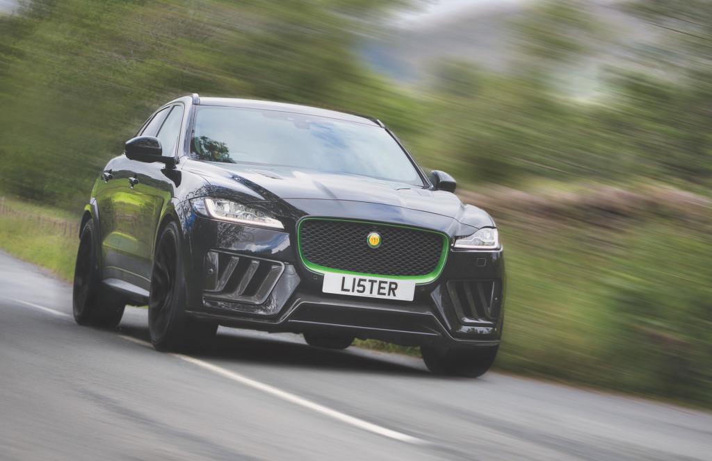 2020 Lister Stealth based on the Jaguar F-Pace SVR