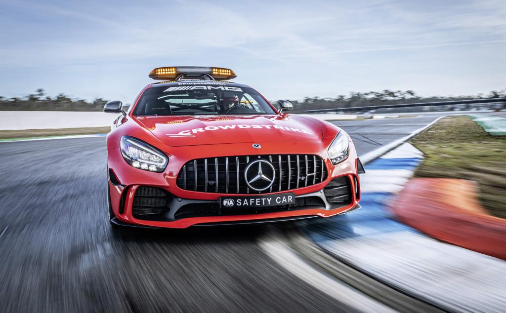 2021 Mercedes-Benz AMG GT R Formula One Official Safety Car