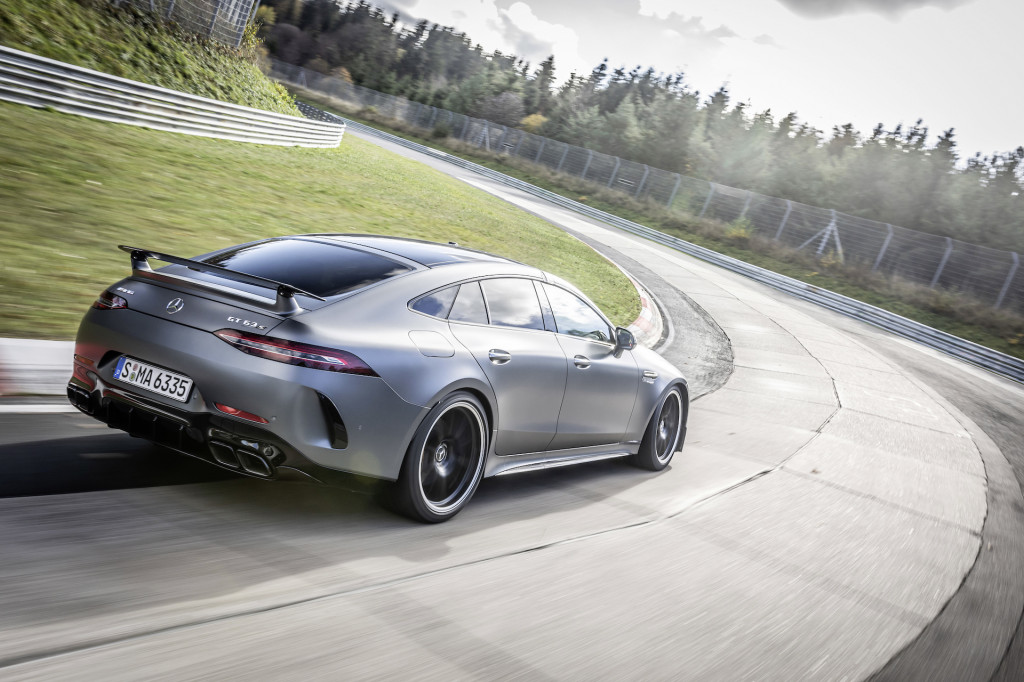 2021 Mercedes-AMG GT 63 S 4-Door Coupe made faster—Nürburgring proves it