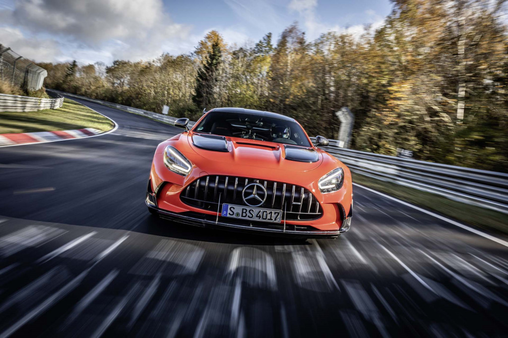 2021 Mercedes-Benz AMG GT Black Series sets Nürburgring record