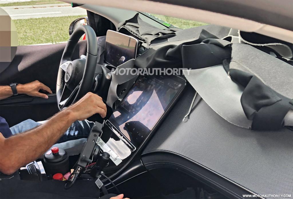 2021 Mercedes-Benz EQS spy shots - Photo credit:S. Baldauf/SB-Medien