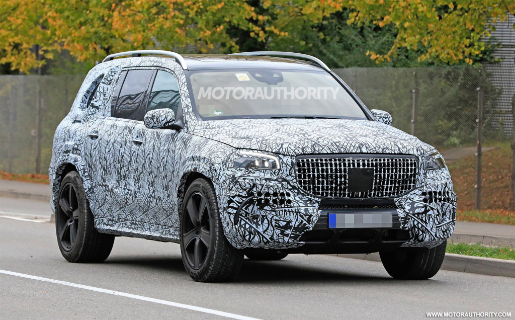 Mercedes-Maybach GLS to debut in November with rumored $200,000 sticker