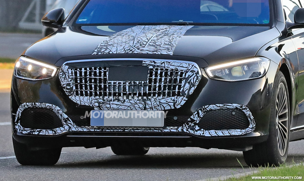 2021 Mercedes-Maybach S-Class spy shots - Photo credit:S. Baldauf/SB-Medien