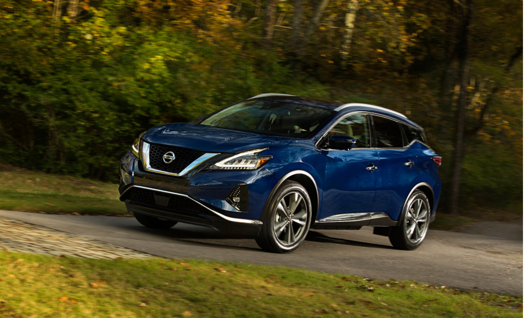 2021 Nissan Murano upgrades to Top Safety Pick+