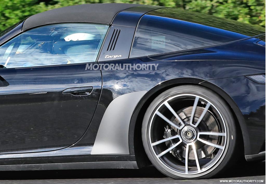 2021 Porsche 911 Targa 4 GTS spy shots - Photo credit:S. Baldauf/SB-Medien