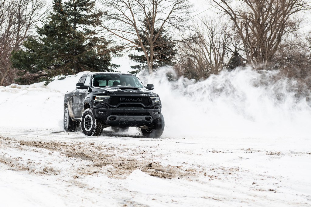 2021 Ram 1500 TRX I Photography by Allex Bellus Photography