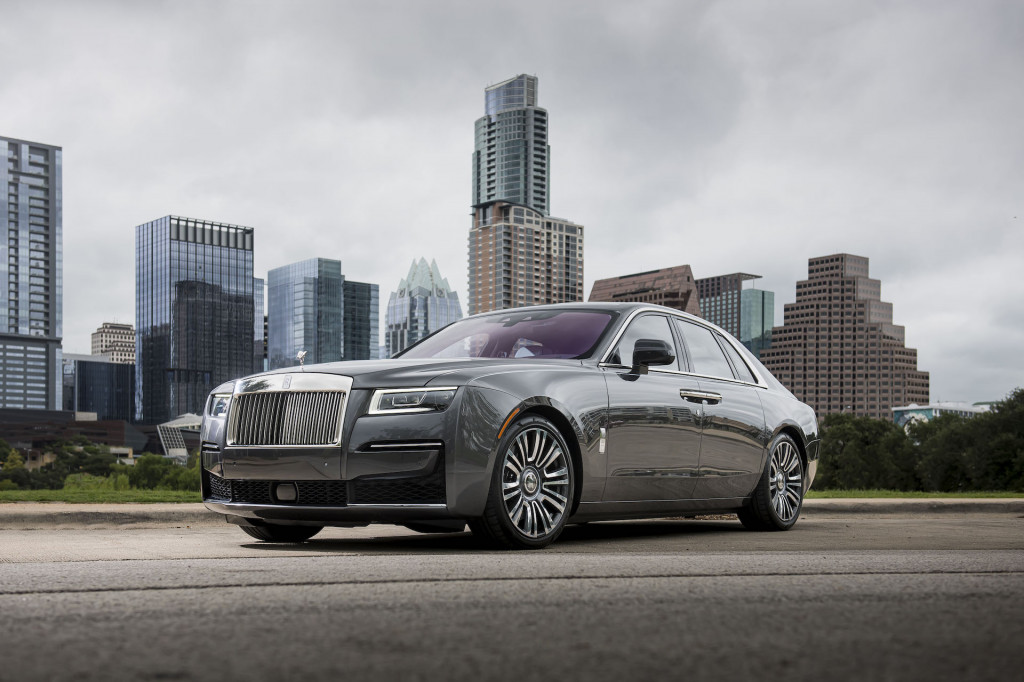 2021 Rolls-Royce Ghost first drive, Austin