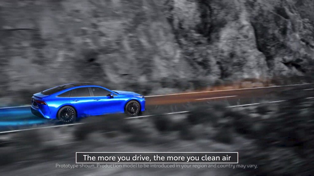 2021 Toyota Mirai - air purification
