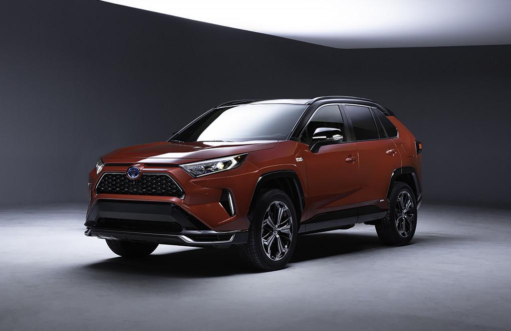 2021 Toyota RAV4 plug-in hybrid