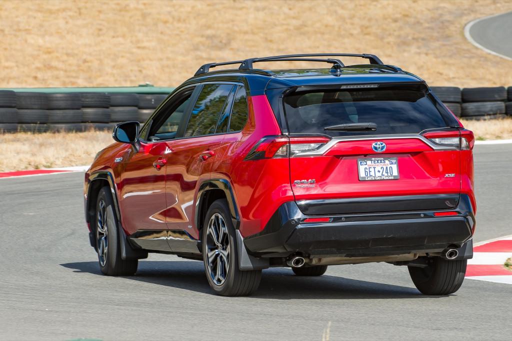 2021 Toyota RAV4 Prime track driving - NWAPA - September 2021