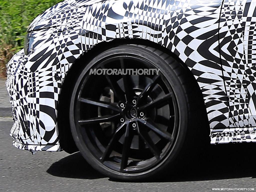 2021 Volkswagen Golf GTI spy shots - Photo credit: S. Baldauf/SB-Medien