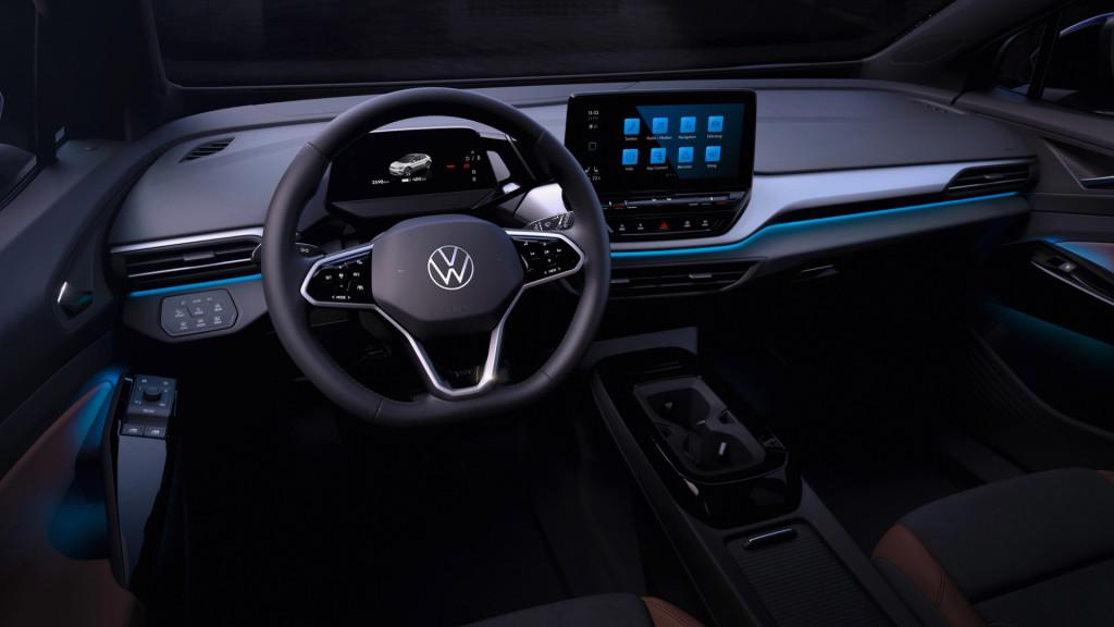 2021 Volkswagen ID.4 interior