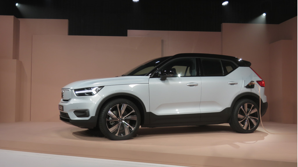 2021 Volvo XC40 Recharge P8  -  Los Angeles reveal, October 2019