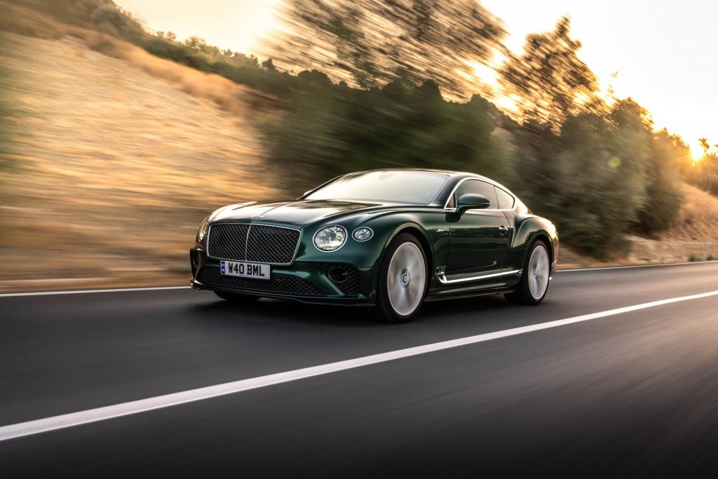2022 Bentley Continental GT Speed, Sicily (Verdant)