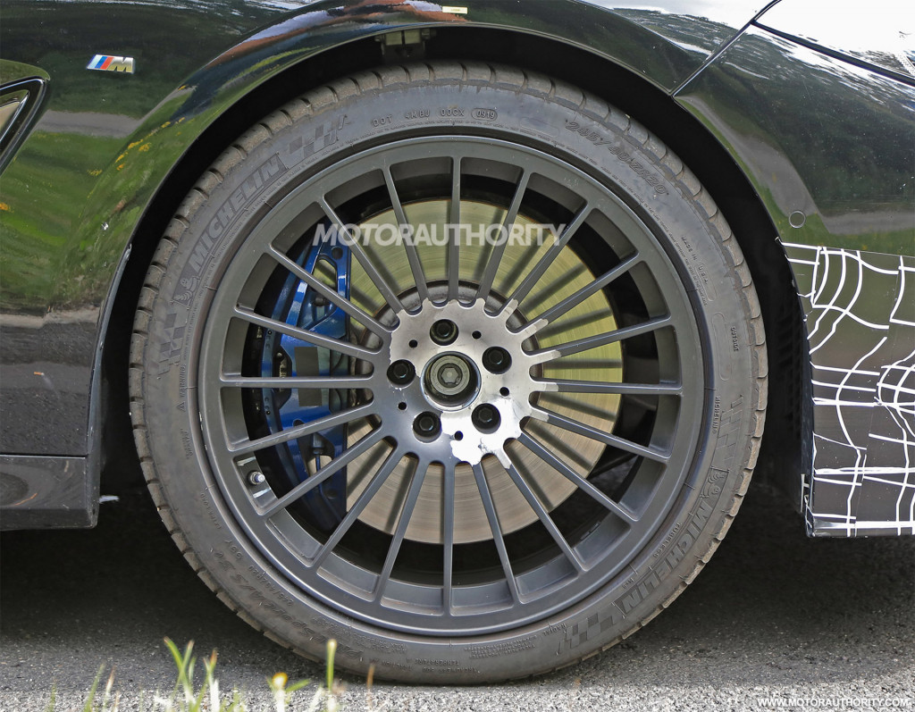 2022 BMW Alpina B8 Gran Coupe spy shots - Photo credit: S. Baldauf/SB-Medien