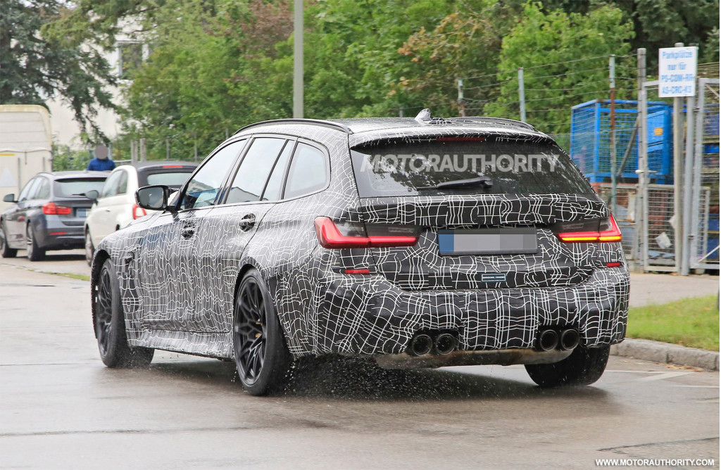 2022 BMW M3 Touring spy shots - Photo credit: S. Baldauf/SB-Medien