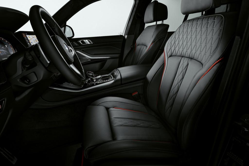 2022 BMW X5 Vermilion Black Edition