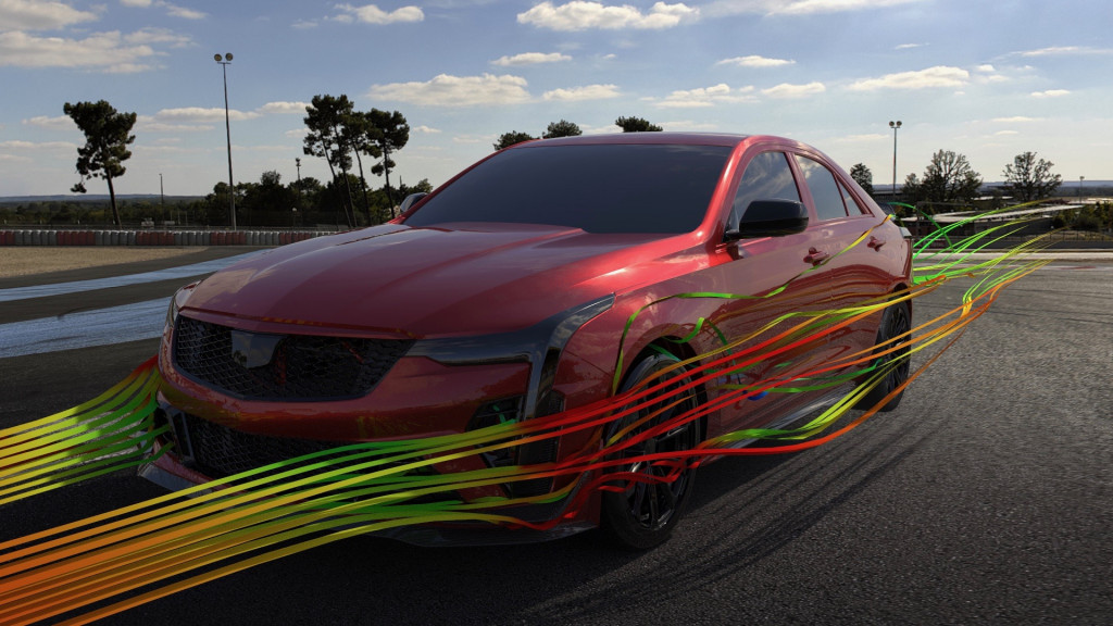 2022 Cadillac CT4-V Blackwing aerodynamics