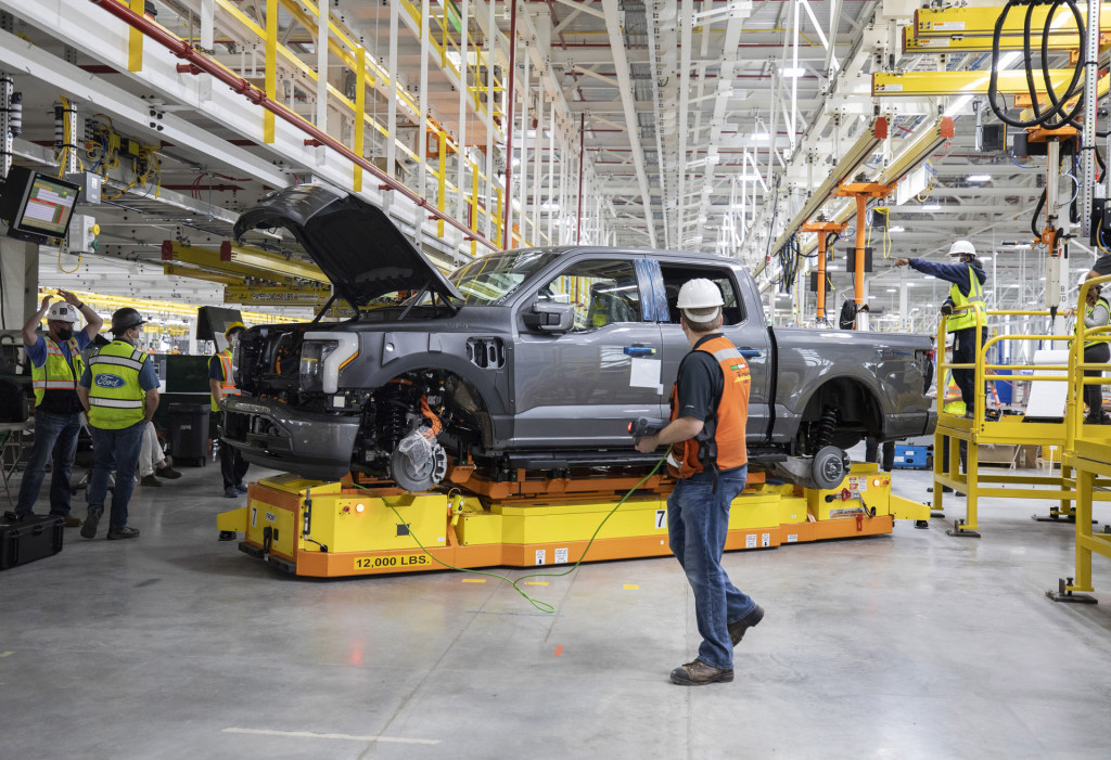 2022 Ford F-150 Lightning pre-production