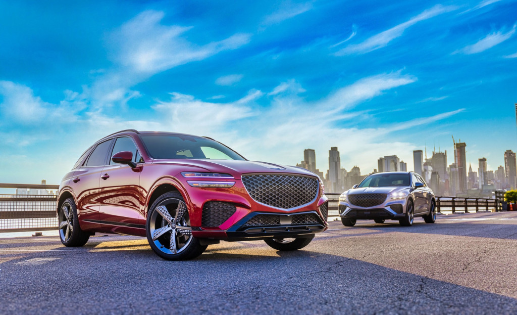 2022 Genesis GV70 and G70 earn Top Safety Pick+ honors