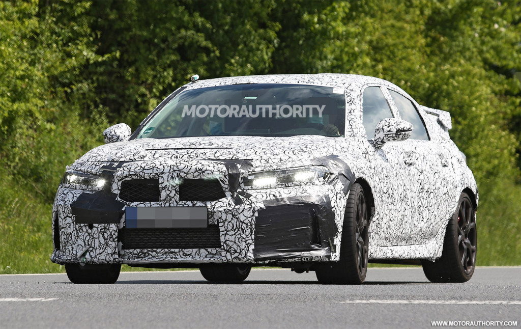 2022 Honda Civic Type R spy shots - Photo credit: S. Baldauf/SB-Medien