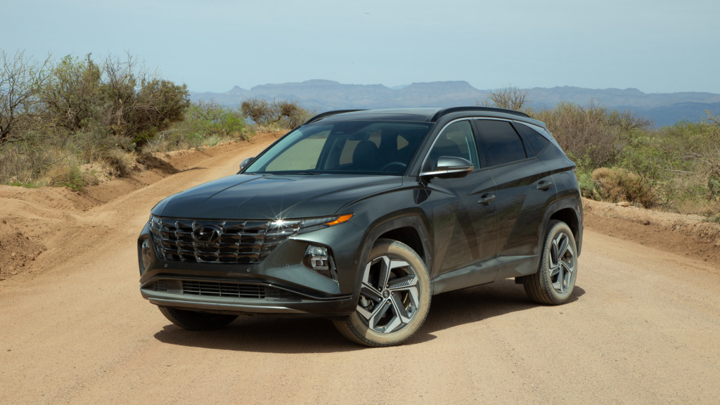 First drive: 2022 Hyundai Tucson electrifies its looks and powertrain
