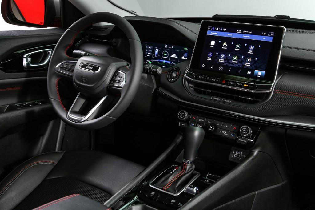 2022 Jeep Compass Trailhawk (European spec)