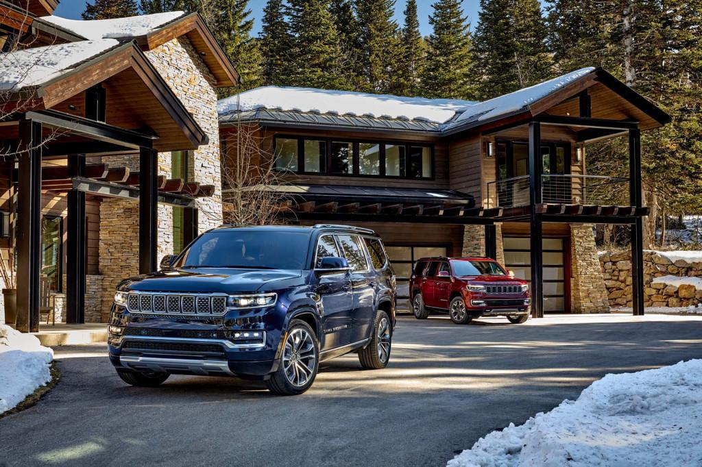2022 Jeep Wagoneer and Grand Wagoneer
