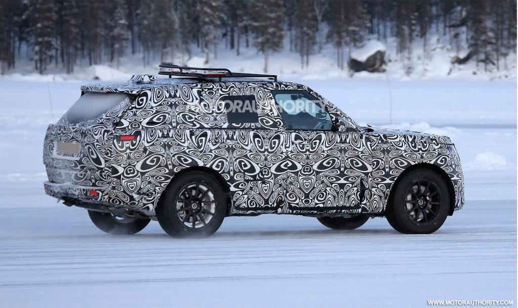 2022 Land Rover Range Rover Sport spy shots - Photo credit: S. Baldauf/SB-Medien