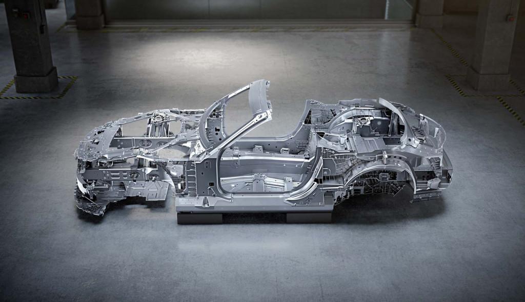 2022 Mercedes-Benz AMG SL-Class body shell
