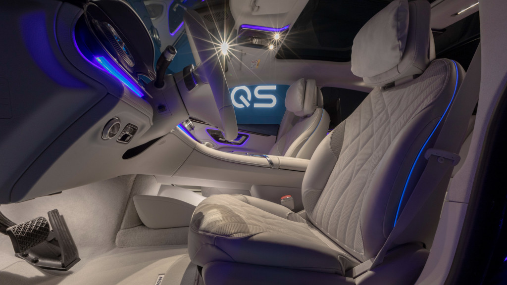 Mercedes-Benz EQS 2022 года