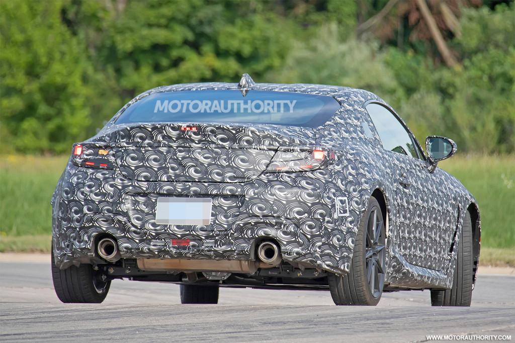 2022 Subaru BRZ spy shots - Photo credit: S. Baldauf/SB-Medien