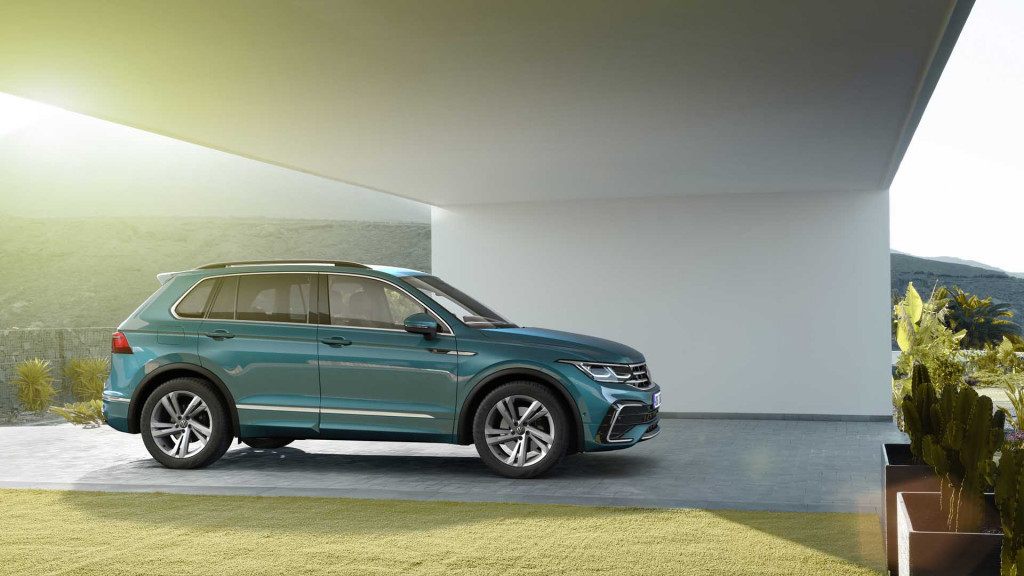 First look: 2022 VW Tiguan goes digital, touch-sensitive