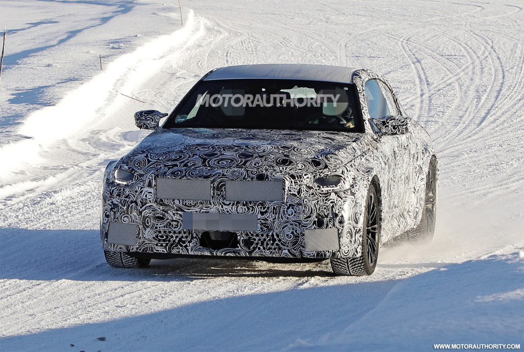 2023 BMW M2 spy shots - Photo credit: S. Baldauf/SB-Medien