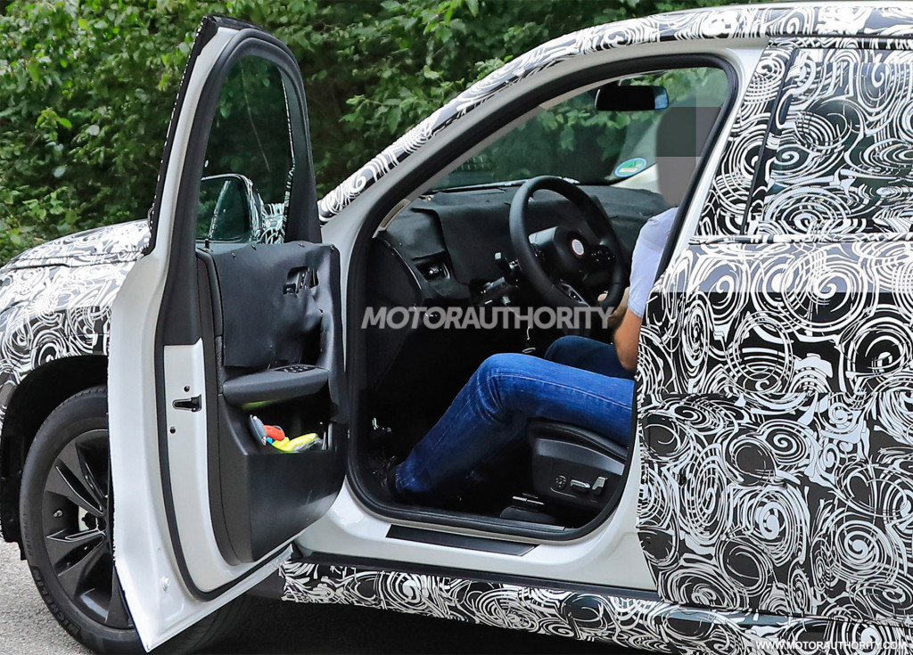 2023 BMW X1 spy shots - Photo credit:S. Baldauf/SB-Medien