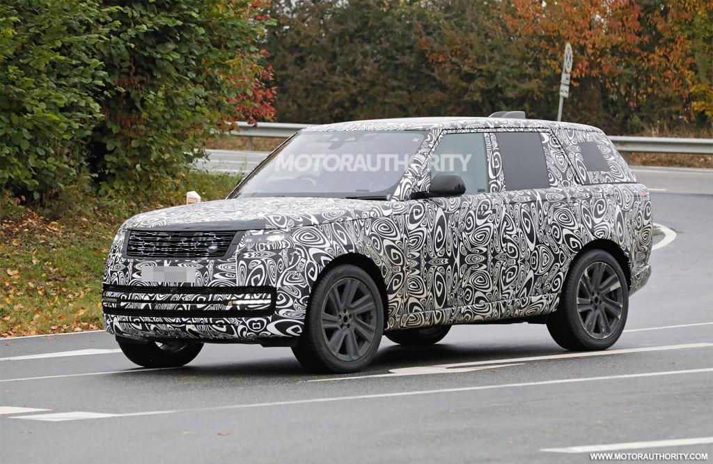 2023 Land Rover Range Rover spy shots - Photo credit: S. Baldauf/SB-Medien