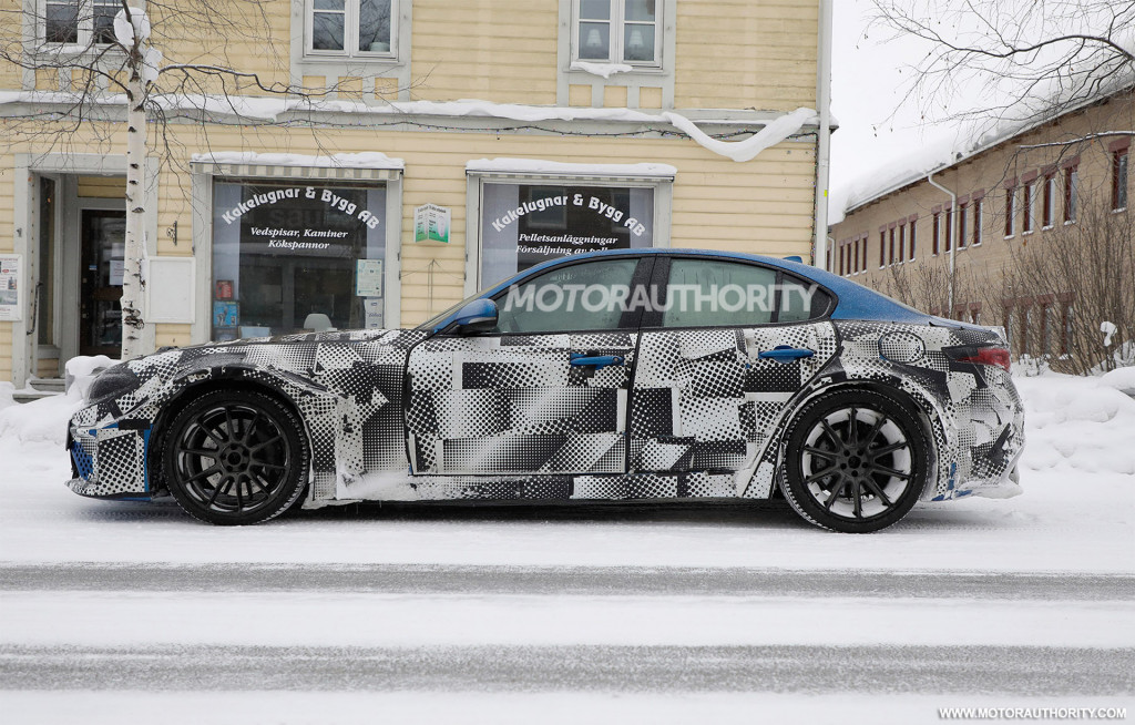 2023 Maserati GranTurismo test mule spy shots - Photo credit: S. Baldauf/SB-Medien