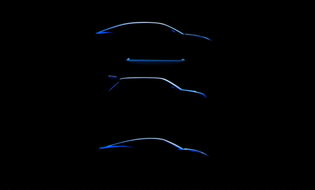 3 Alpine electric cars teased during presentation on June 30, 2021