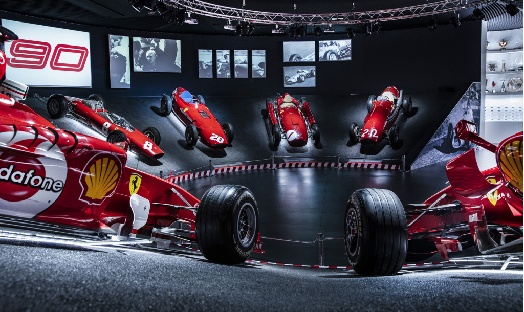 New exhibition marks 90 years of Ferrari racing history