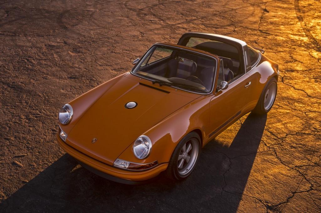 964 Porsche 911 Targa Luxembourg by Singer