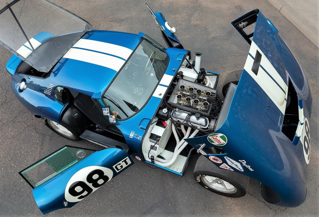 1965 Shelby Cobra Daytona Coupe that was owned by Carroll Shelby   Worldwide photos