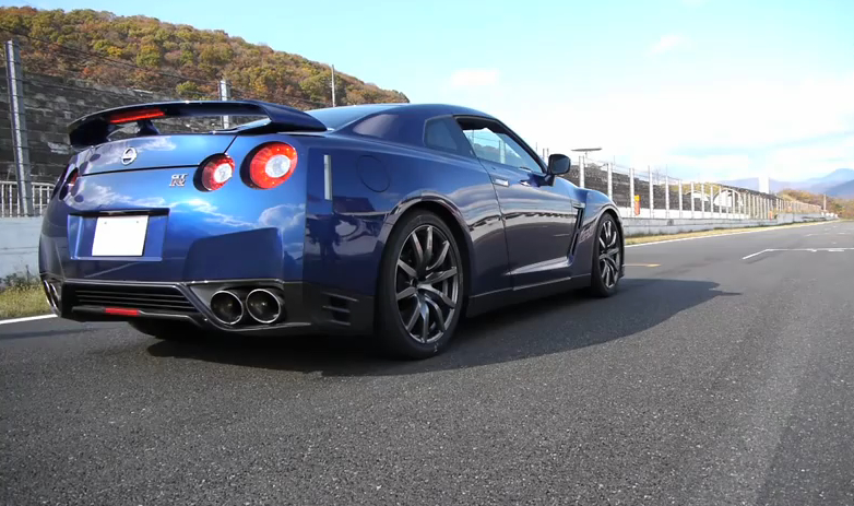 2013 Nissan GT-R Caught Testing In Japan, 0-60 in 2.72s: Video