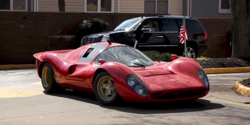 Would You Daily That Rcr Built Ferrari 330 P4 Replica
