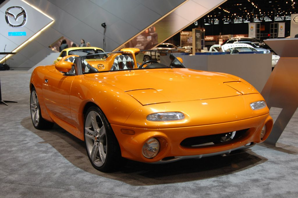 A history of the Mazda Miata -- via Autoblog