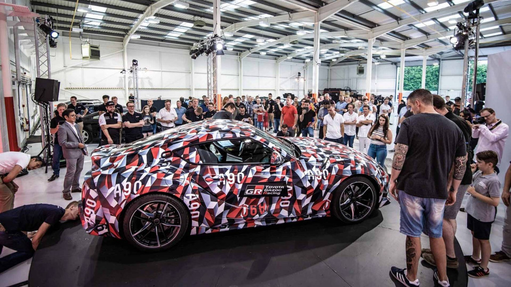 As the years go by: all 5 Toyota Supra generations together for first time