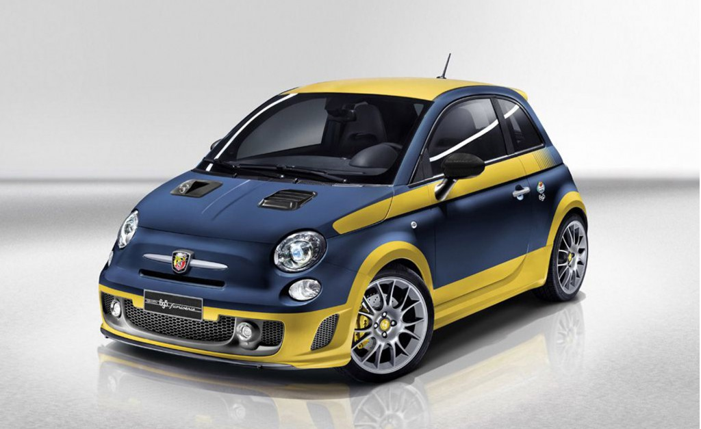 Abarth Fuori Serie based on the Fiat 500