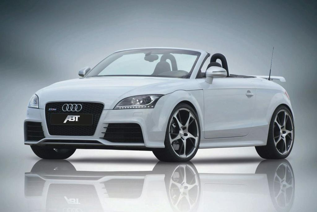 Abt Sportsline Works Over The Audi Tt Rs
