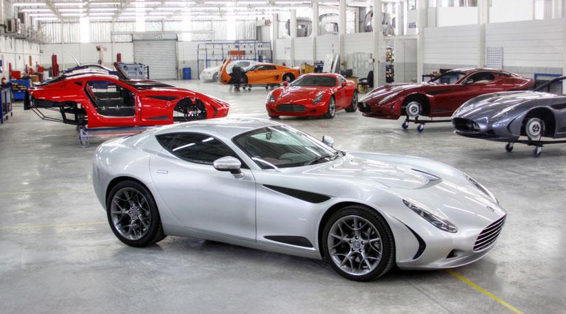 AC Cars And Zagato Show 378 GT Sports Car At Geneva