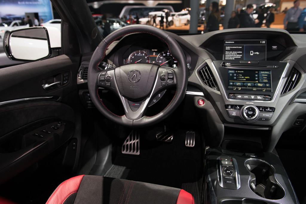 Image: 2019 Acura MDX A-Spec, 2018 New York auto show ...