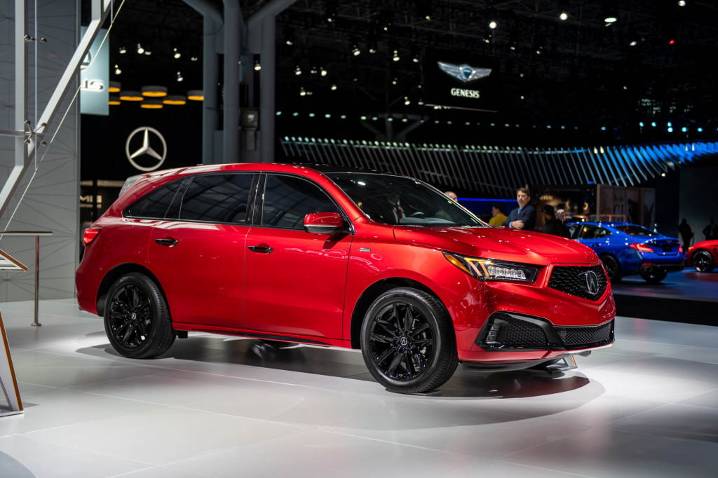 Acura MDX PMC edition, 2019 New York International Auto Show